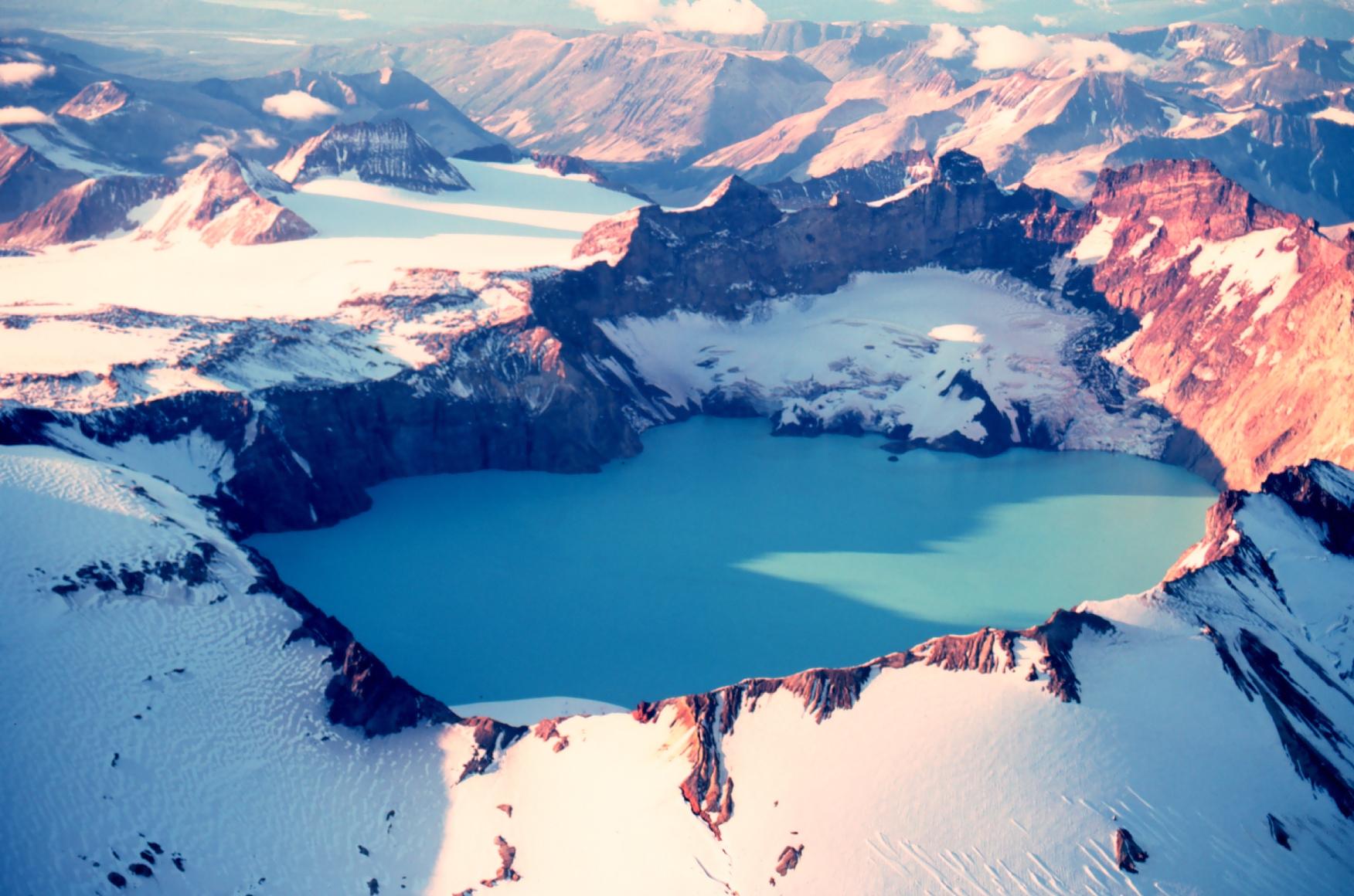 Katmai Crater 1980 1